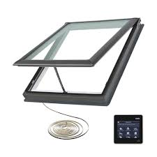 velux 21 in x 26 7 8 in fresh air electric venting deck mount