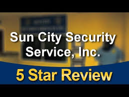 sun city security service inc el paso impressive five