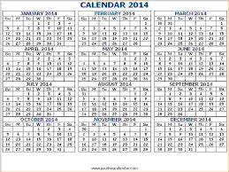 7 printable pocket calendar memo formats