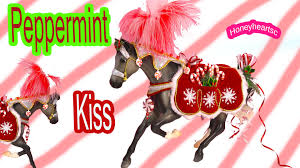 breyer holiday horse peppermint kiss traditional horses unboxing