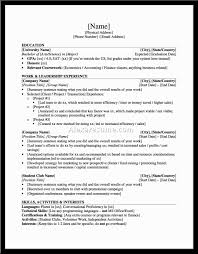 Resume Sample Extracurricular Activities by List Of Extracurricular Activities In Resume Resume For Your Job