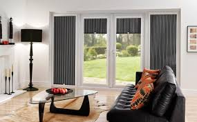 Patio Door Internal Blinds Simple Window Treatment Ideas For Sliding Glass Doors Window