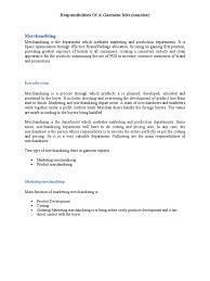 Forklift Duties Resume Merchandiser Duties Resume Retail Resume Duties Free Resume