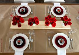 a s day dinner table