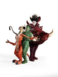 timon and pumbaa halloween costumes for adults before and after the lion king broadway costume transformations