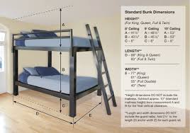 Bunk Bed For Adults Francis Lofts  Bunks - Height of bunk beds