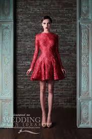 red short wedding dress biwmagazine com