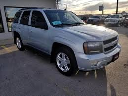 chevrolet trailblazer 2008 silver chevrolet trailblazer in south dakota for sale used cars