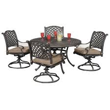 5 patio set world source 5 patio dining set moab rc willey furniture