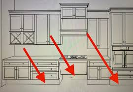 what is standard for toe kick on kitchen cabinets how important is ada height toe kick cabinet spaces