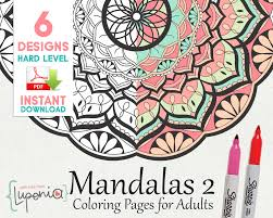 beautiful mandala coloring pages mandalas coloring pages hard painting book level 2
