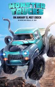 monster truck shows 2016 monster trucks movie poster 1 of 4 imp awards