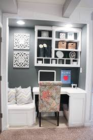 home office closet organizer home made closet into office space add additional seating to your