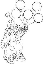 printable circus craft clown kid blogger network activities