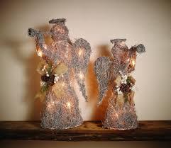 Schlafzimmer Deko Engel Deko Figur Weihnachten Led 20 Warmweiß Und Timer Silber Engel