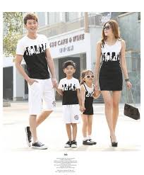 figures family matching clothes family set clothes for and