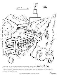 temple sacrifices