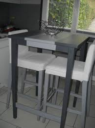 table de cuisine grise table de cuisine haute ikea finest idee deco ikea tabouret and