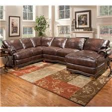 Leather Sectional Sofa With Chaise by Stratford Olympus Leather Sectional Sofa Group With Chaise