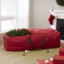 wayfair basics rolling artificial tree storage bag reviews