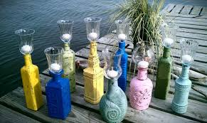 Shabby Chic Wedding Decor For Sale by S A L E Candle Holder Shabby Chic Bottle Candle Holder
