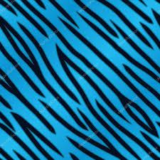 blue tiger print u2014 stock vector avelkrieg 38176985