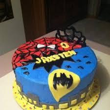 batman u0026 spiderman cakes batman spiderman cake by patty cake u0027s