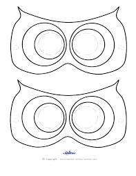 owl cut out template eliolera com