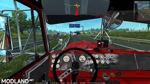 kenwood w900 kenworth w900a custom for 1 26 mod for ets 2