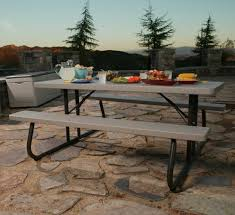 Convertible Picnic Table Bench 22119 6 Foot Folding Picnic Table Bench In Putty