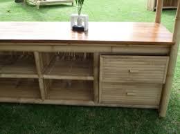 meuble cuisine exterieure cuisine exterieure bois plan enchanteur plan de travail exterieur en