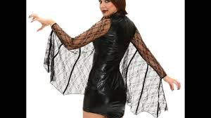 women role playing party moonlight bat halloween costume