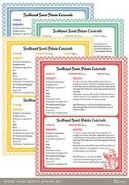 diy custom recipe binder cookbook printable pages 40 templates