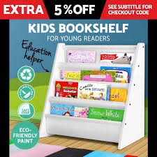 Ebay Bookcase by Kids Shelf Children Bookcase Magazine Rack Bookshelf Display