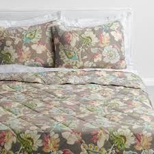 World Map Bedding Quilts World Market