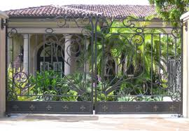 ornamental wrought iron driveway gates ornamental iron