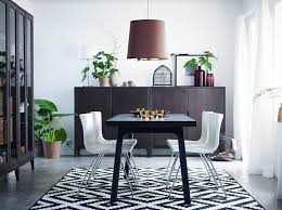 ikea black brown dining table dining room dining room furniture ideas ikea of splendid images