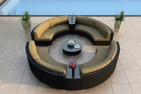 Best Outdoor Wicker Patio Furniture by Outdoor Sectional Sofa Black Finish Resin Wicker Patio Furniture