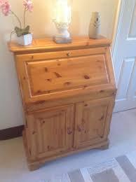 x bureau pine bureau with storage and drop writing desk buyer collects