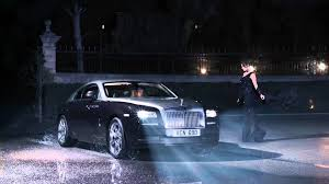 roll royce road wraith and the world stood still youtube
