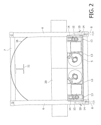 patent us20090039695 guide frame for guiding conveyor segments