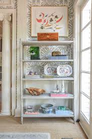 Heaven Antiques And Custom Furniture Los Angeles Ca Antique Painted Shelves From Paris Bookshelf Styling Ideas