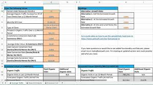 roi calculator excel template exltemplates