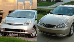 best toyota used cars toyota camry prius best used cars 8 000 says kbb