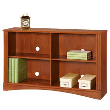 sauder heritage hill bookcase small two shelf bookshelf sauder 2 shelf bookcase estate black