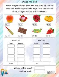 Metric Mania Worksheet Money Worksheet For Grade 3 In Rupees Yahoo India Image Search