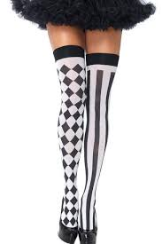 new fashion see through skeleton stockings bone print fake
