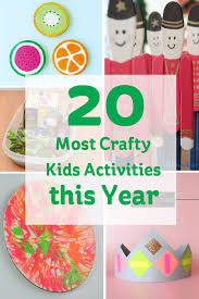 the 20 most crafty kids activities this year hobbycraft blog