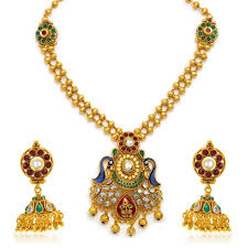 women necklace set images Buy sukkhi resplendent antique gold plated kundan necklace set for jpg