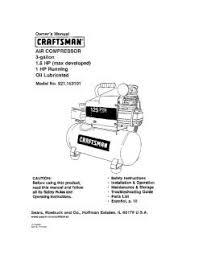 Craftsman 3 Gallon Air Compressor 921 153101 Craftsman Air Compressor 3 Gallon 1 5 Hp